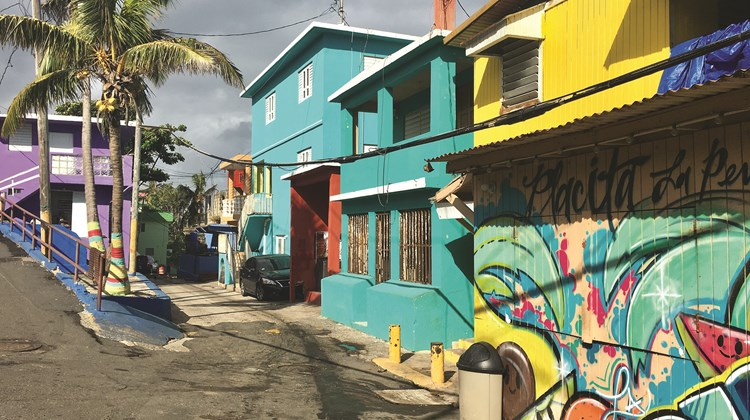 San Juan&#39;s La Perla neighborhood, the setting of the hugely popular music video for &#39;&#39;Despacito,&#39;&#39; remains as colorful and vibrant as ever.<br /><br /><strong>Photo Credit: TW photo by Johanna Jainchill</strong>
