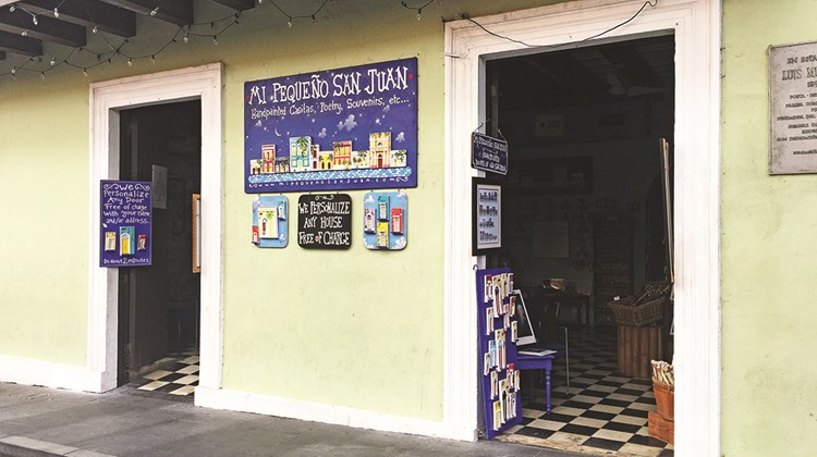 Mi Pequeno San Juan in Old San Juan was open but unable to take credit cards as of Dec. 8.<br /><br /><strong>Photo Credit: TW photo by Johanna Jainchill</strong>