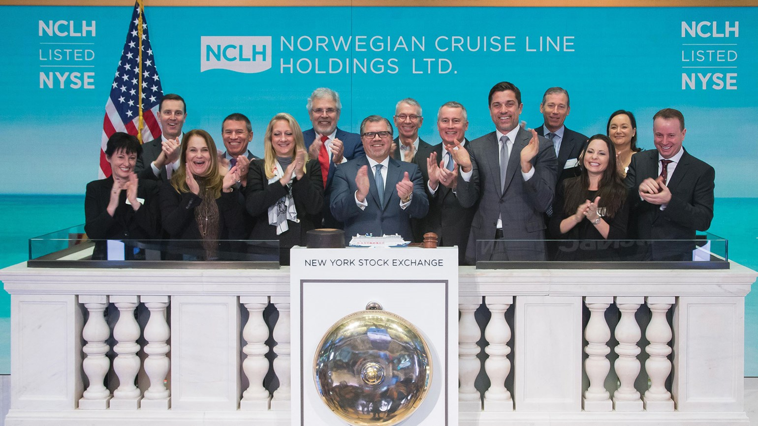 Norwegian Cruise Line rings NYSE opening bell
