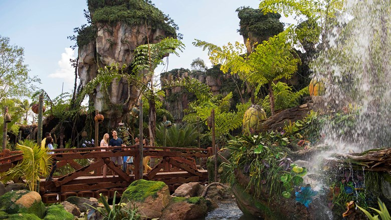 Pandora -- The World of Avatar at Disney's Animal Kingdom.