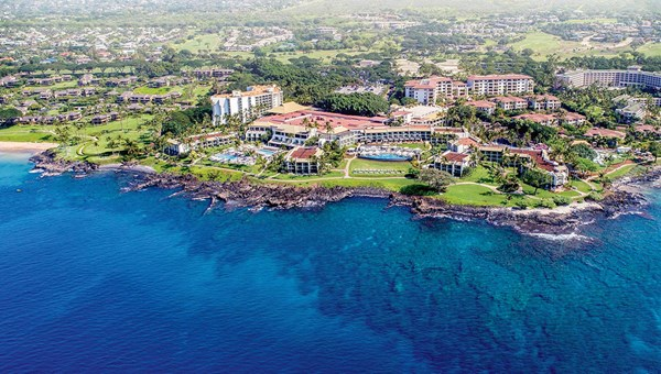The Wailea Beach Resort on Maui, where the pools were recently renovated.