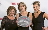 Teri Boyd, Barbie Groves and Melissa Backus of the Mark Travel Corp. Readers picked Mark Travel's Funjet Vacations as 2017's top Mexico tour operator.