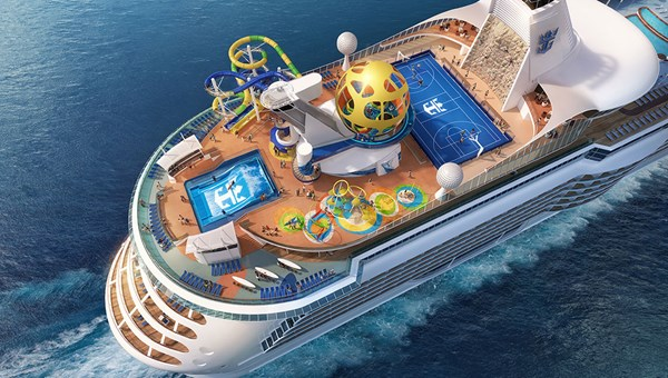 The Mariner will have two new water slides.