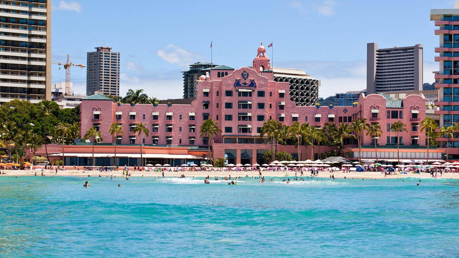 26 To Protest A Decision By Kyo Ya Hotels And Resorts Subcontract Concierge Services At The Royal Hawaiian Pictured