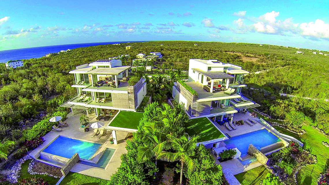 Ani Villas' two-structure, private resort in Anguilla was heavily damaged by Irma and will not reopen until March.