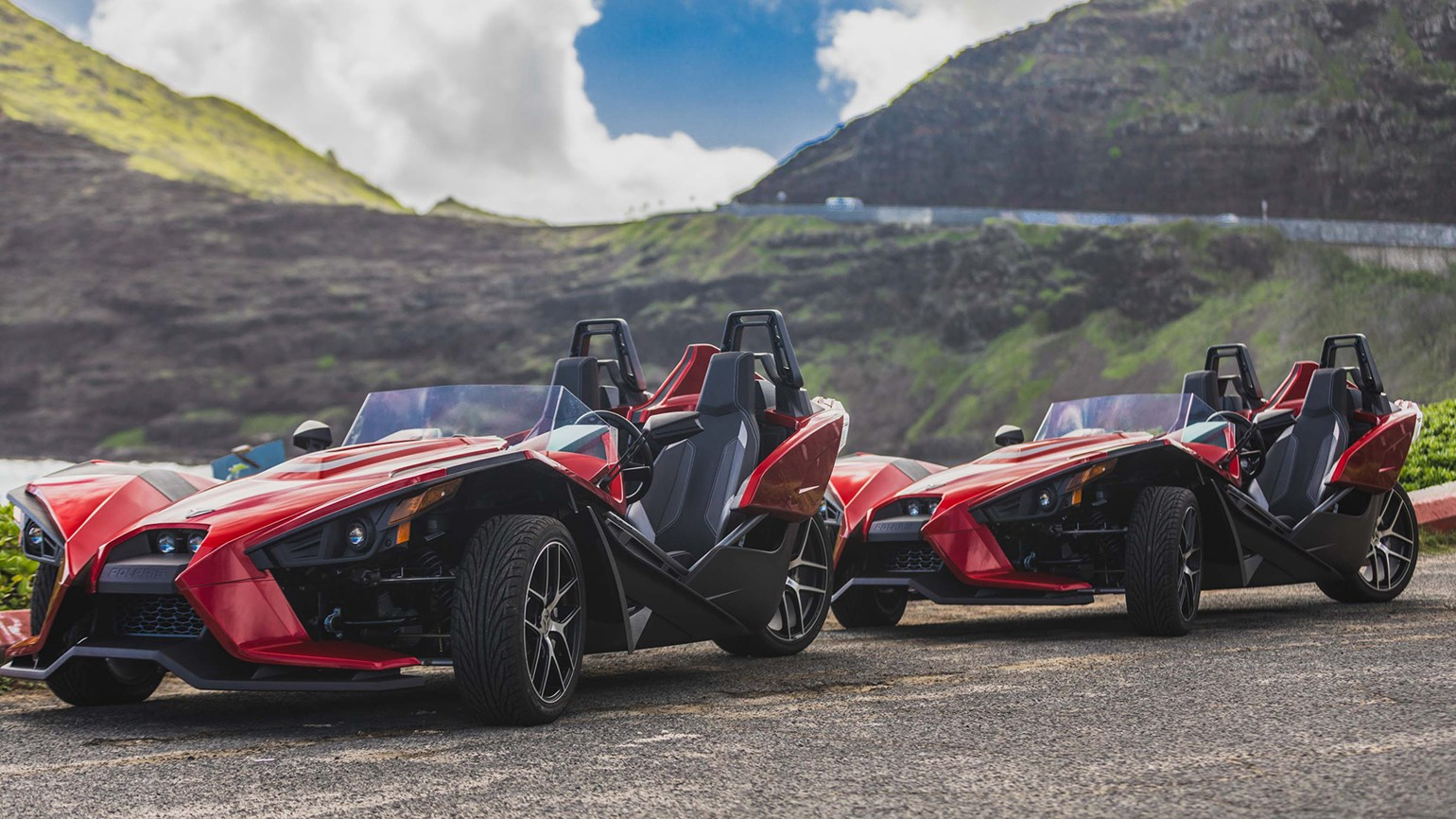 Three-wheeled Slingshots now available in Waikiki