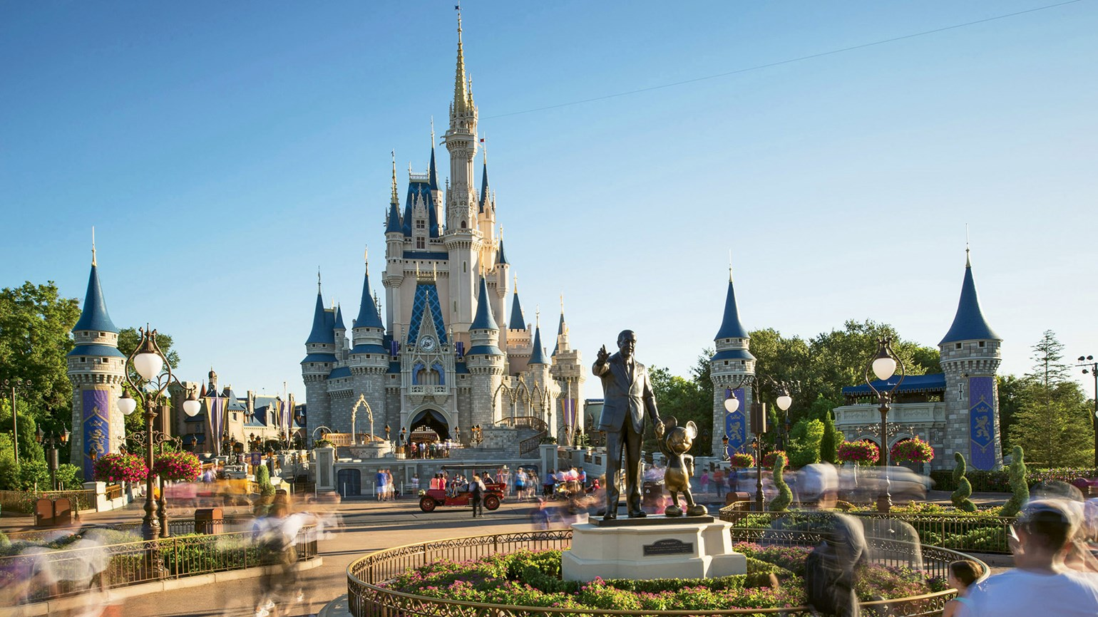 Capacity levels are going up at Walt Disney World