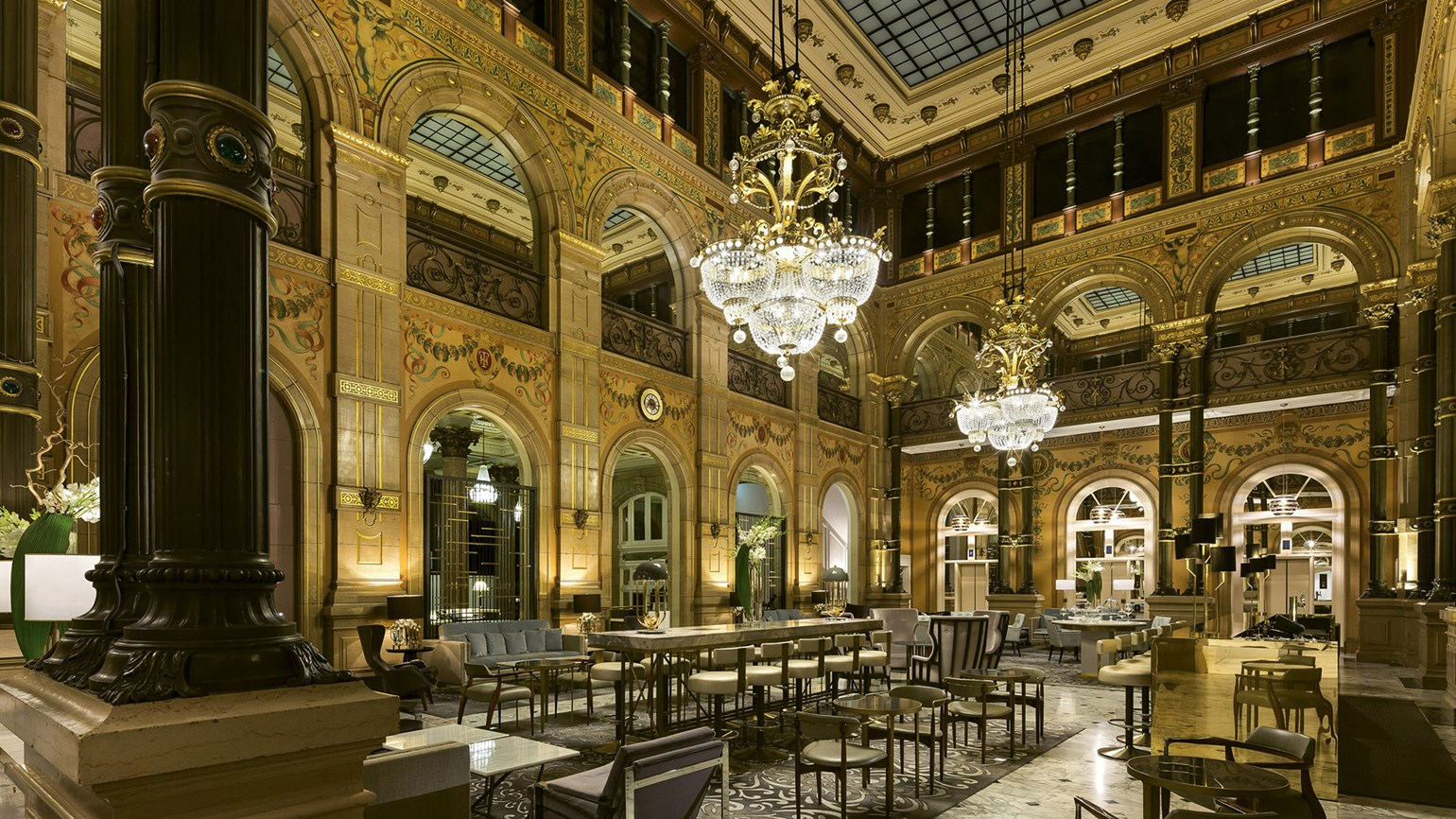 Belle epoque lives on at Hilton Paris Opera