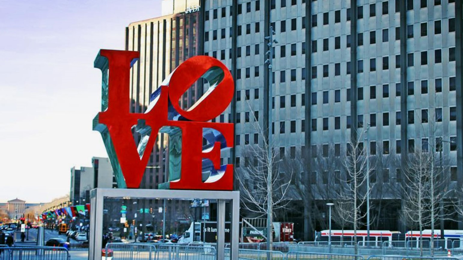 'LOVE' returns: Philadelphia park gets its sculpture back