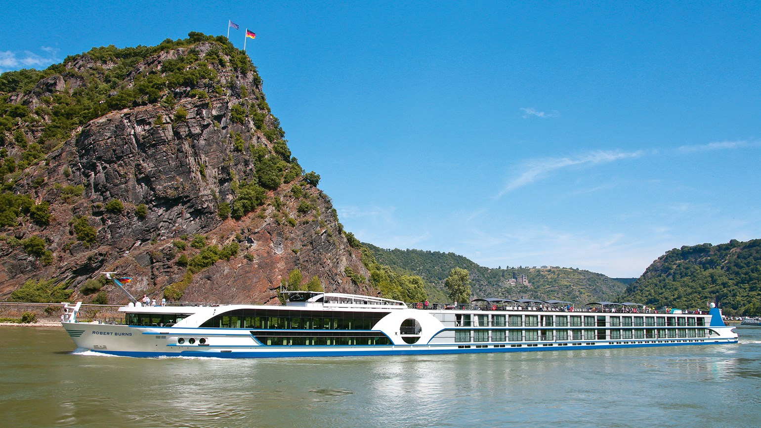 Omega World Travel CEO named godmother of river cruise ship