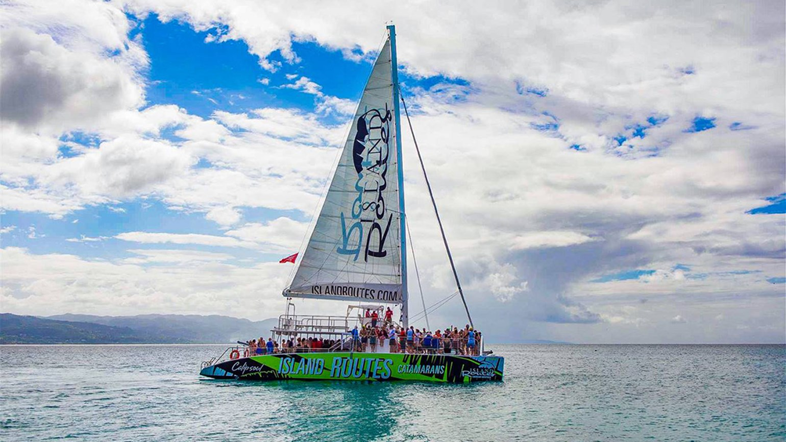 Island Routes launches catamaran tours in Ocho Rios