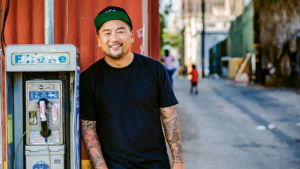 Jonathan Waxman and Roy Choi, pictured, are among the star chefs working with hotels.