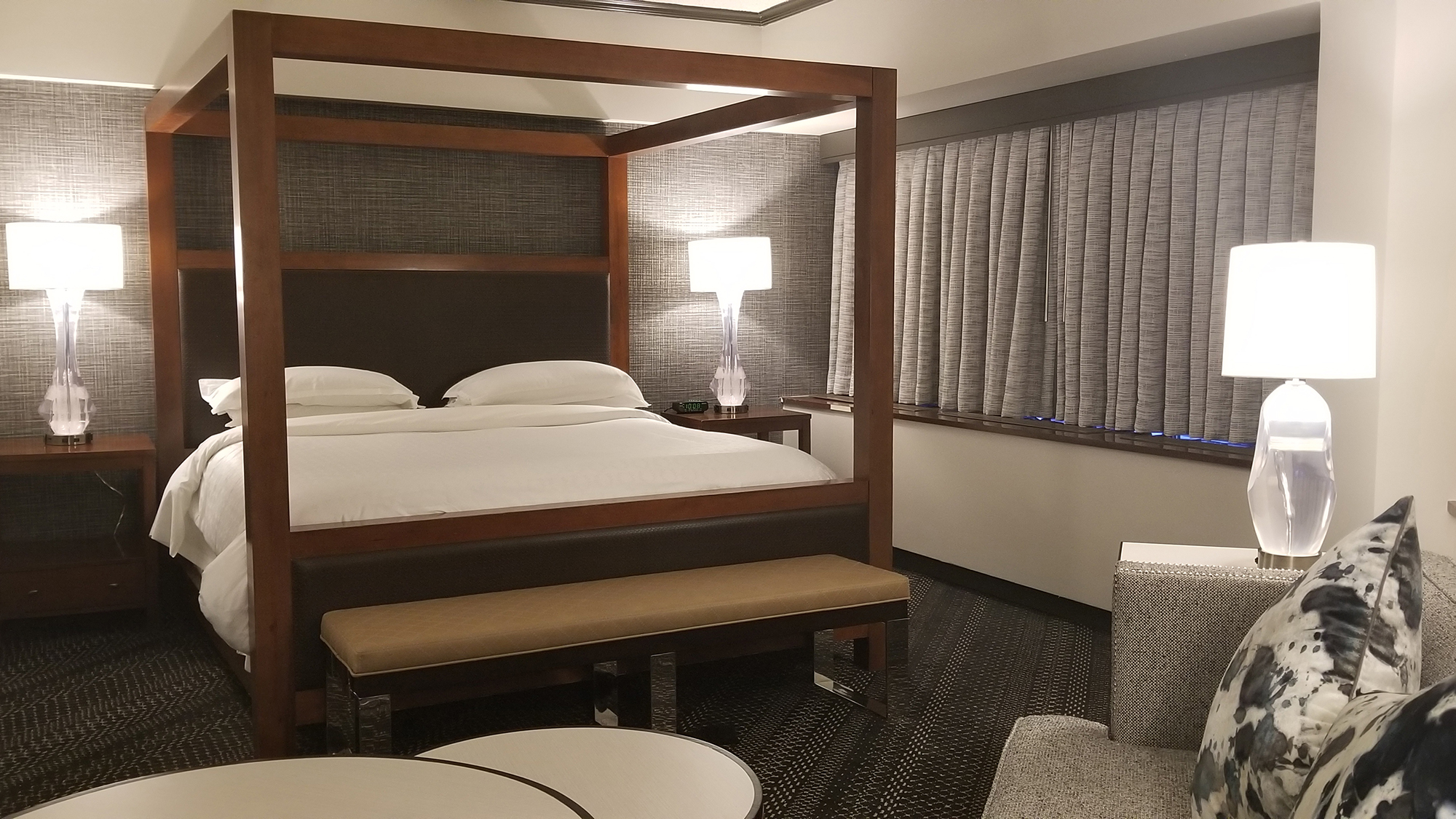 A Renovated Guestroom At The Sheraton Anchorage Hotel And Spa.
