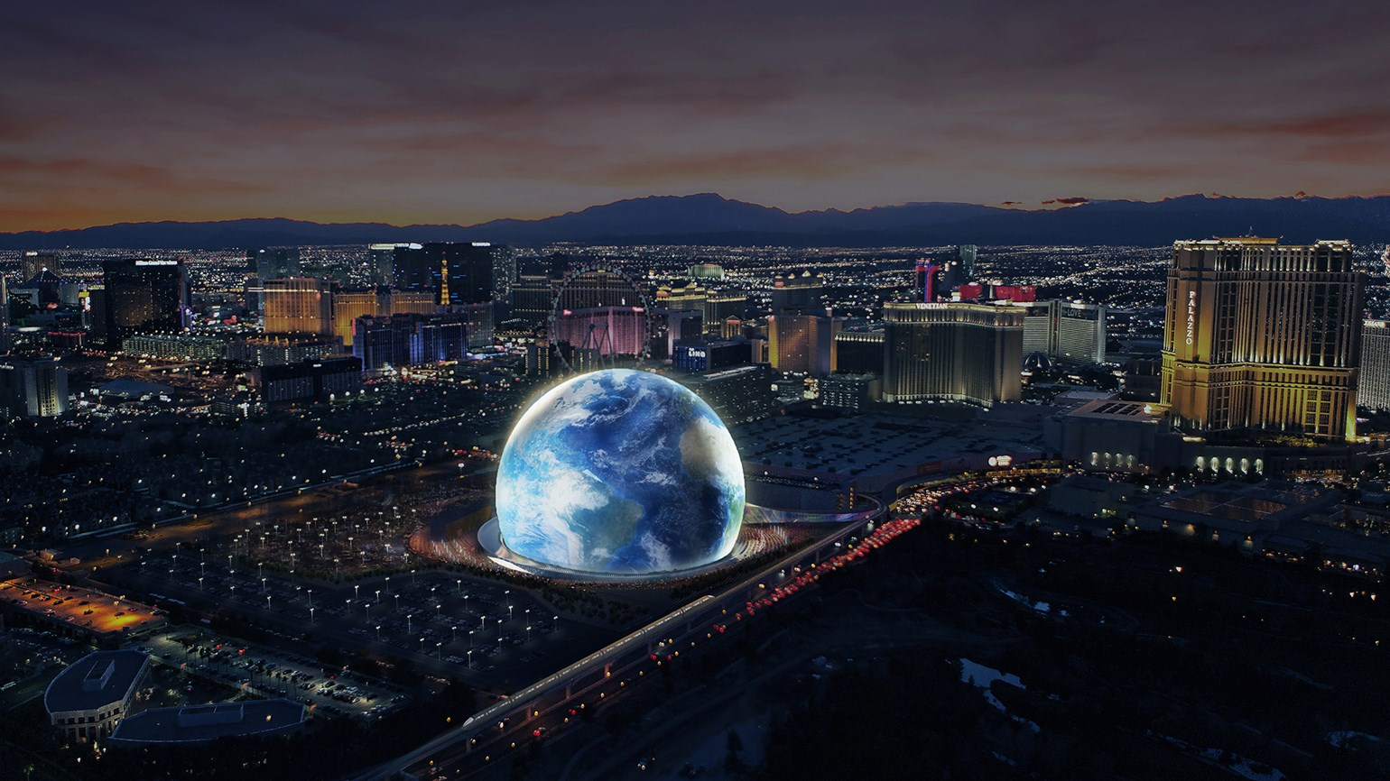 MSG Sphere is the shape of things to come in Las Vegas
