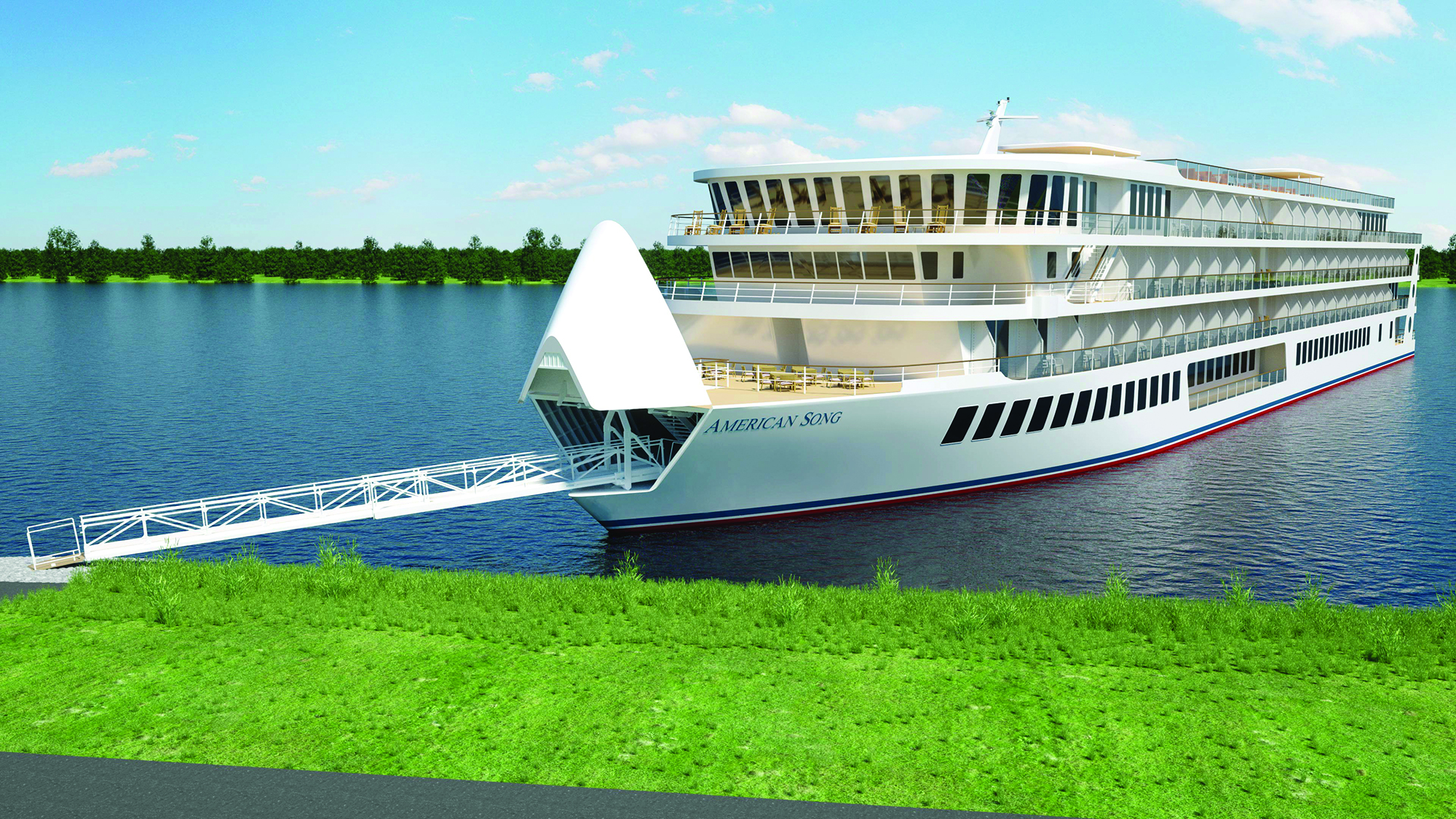 American Cruise Lines Starts Construction On Second