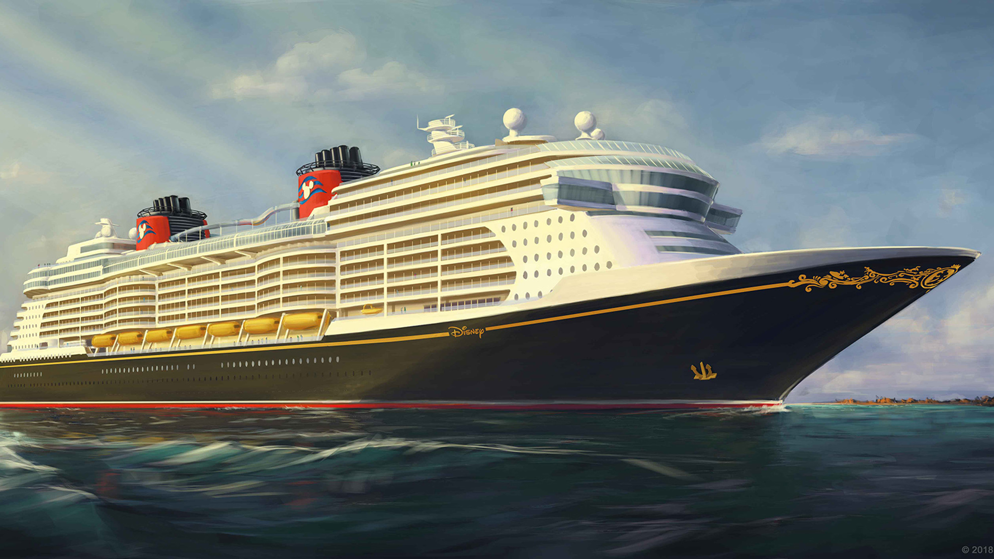 New Ship Exterior Is Classic Disney With A Few More