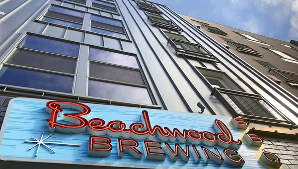 The Beachwood BBQ brewpub is one of the prime stops for beer lovers in Long Beach.