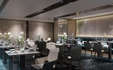 Aqua is a restaurant being developed for the Ritz-Carlton Yacht Collection by the chef of a Michelin three-star restaurant of the same name at the Ritz-Carlton resort in Wolfsburg, Germany.