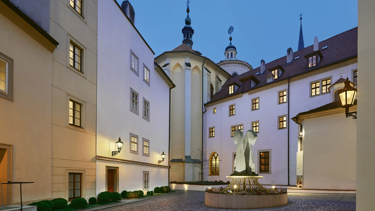 A heavenly stay at Prague's historical Augustine Hotel