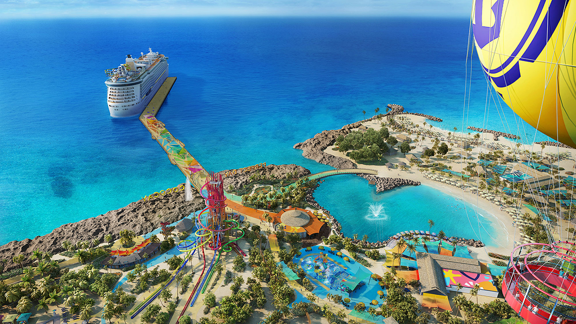 Rccl Unveils Details Of Reimagined Cococay Plans Private