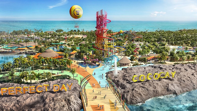rccl unveils details of reimagined cococay plans private island