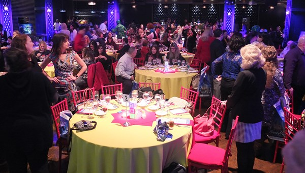 Around 170 travel agents attended a Disney event at the Edison Ballroom in New York.