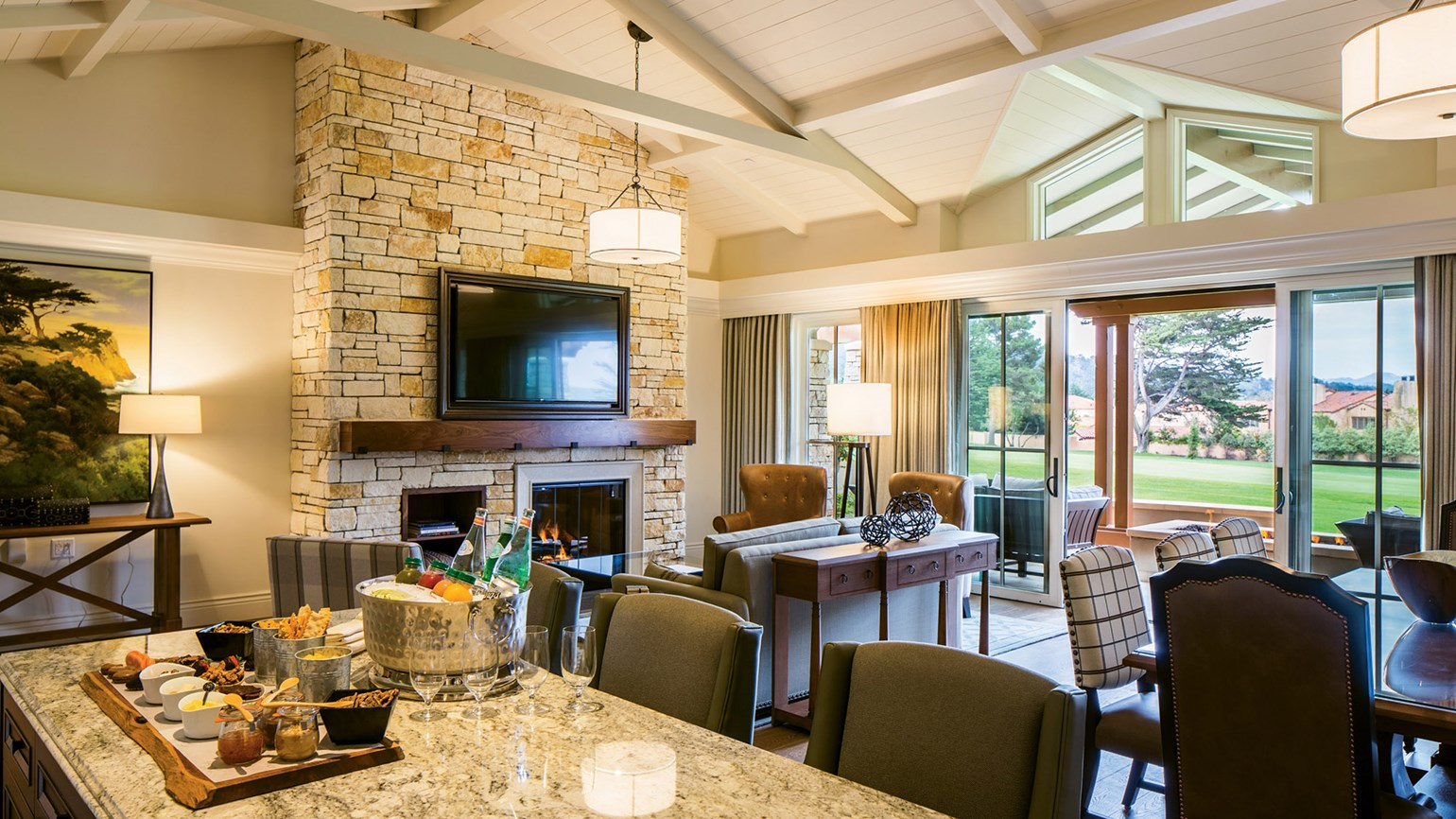 Beyond the links at Pebble Beach lodge