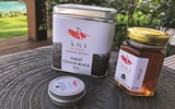 Ani Villas leaves very curated, thoughtful bedtime gifts for guests, including products such as tea made at its tea estate in Sri Lanka, and artisanal honey and beeswax it has made at a local Dominican farm.