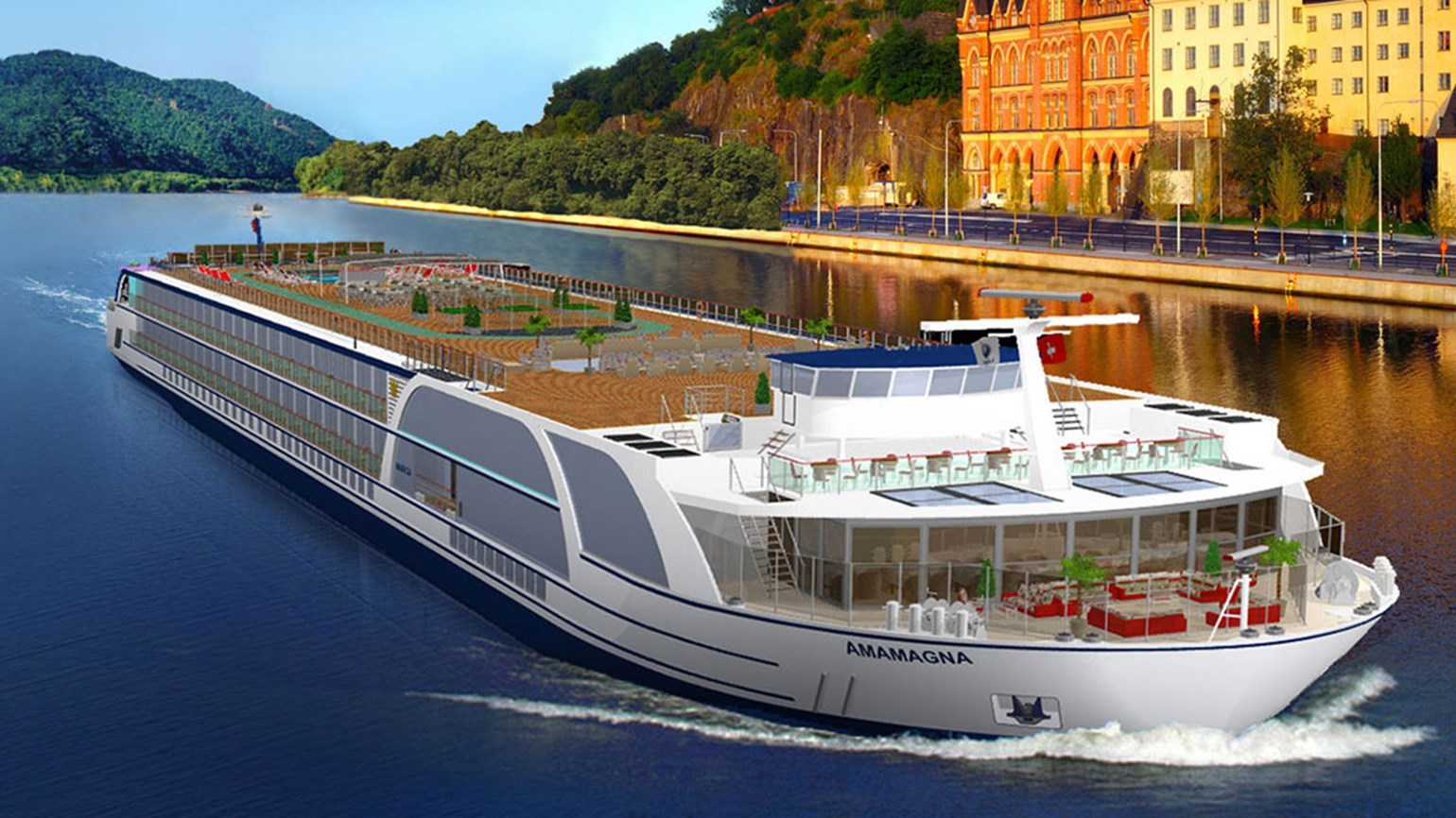 AmaWaterways' megaship arriving May 2019