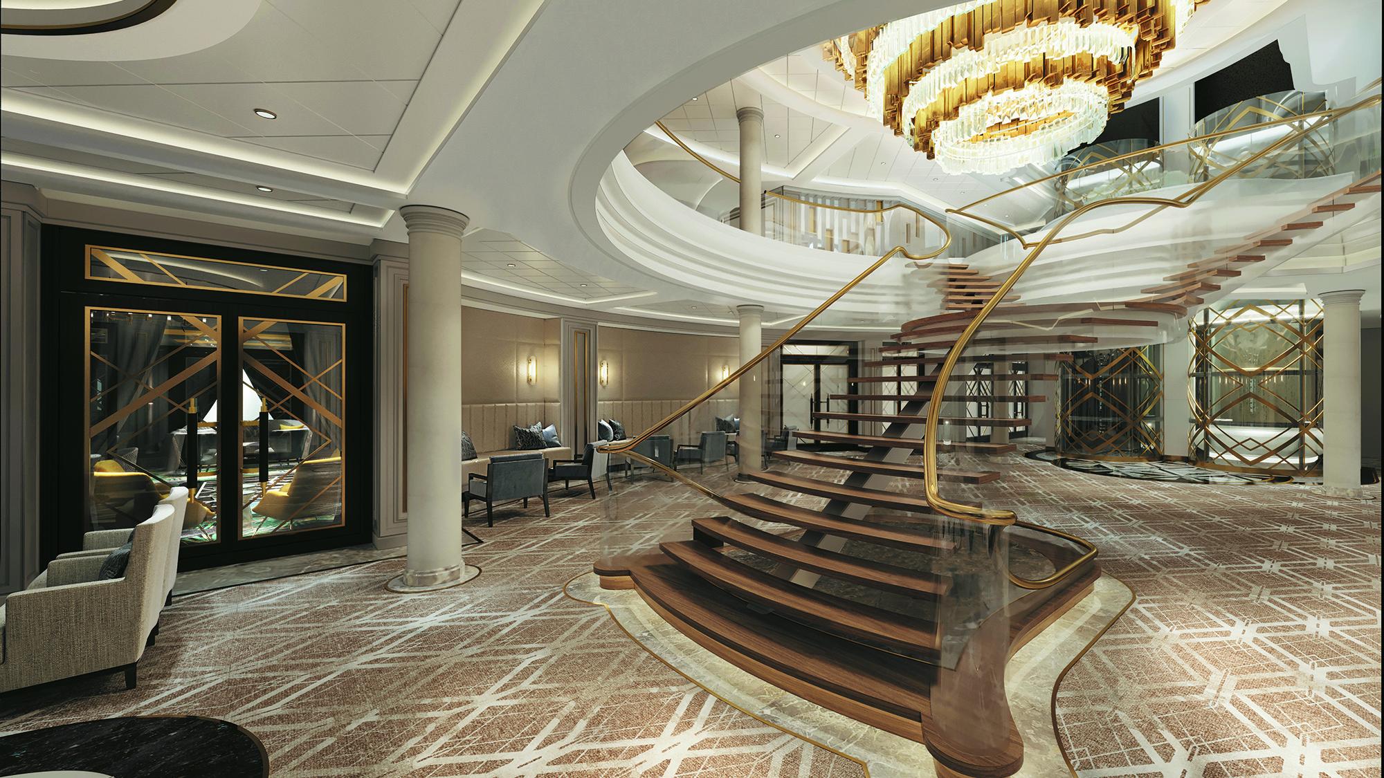 Regent Unveils Interior Details Of Seven Seas Splendor
