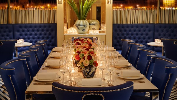 Max's is a new dining venue on the ship, and the locale for intimate cooking classes.