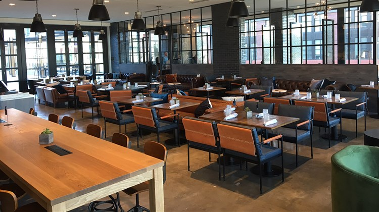 The Canopy by Hilton Washington D.C. Bethesda North, like its D.C.-proper older sibling, features a restaurant/lounge area called Canopy Central.