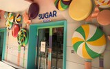 The Boardwalk also for the first time features Sugar Beach, a candy store.