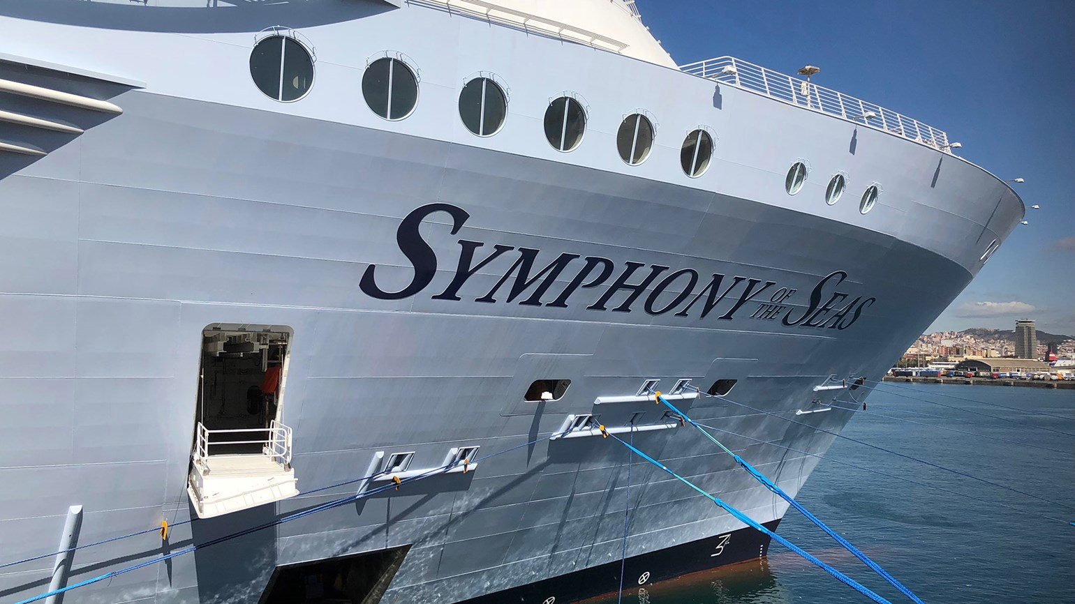 Symphony of the Seas surprises and delights with tech touches