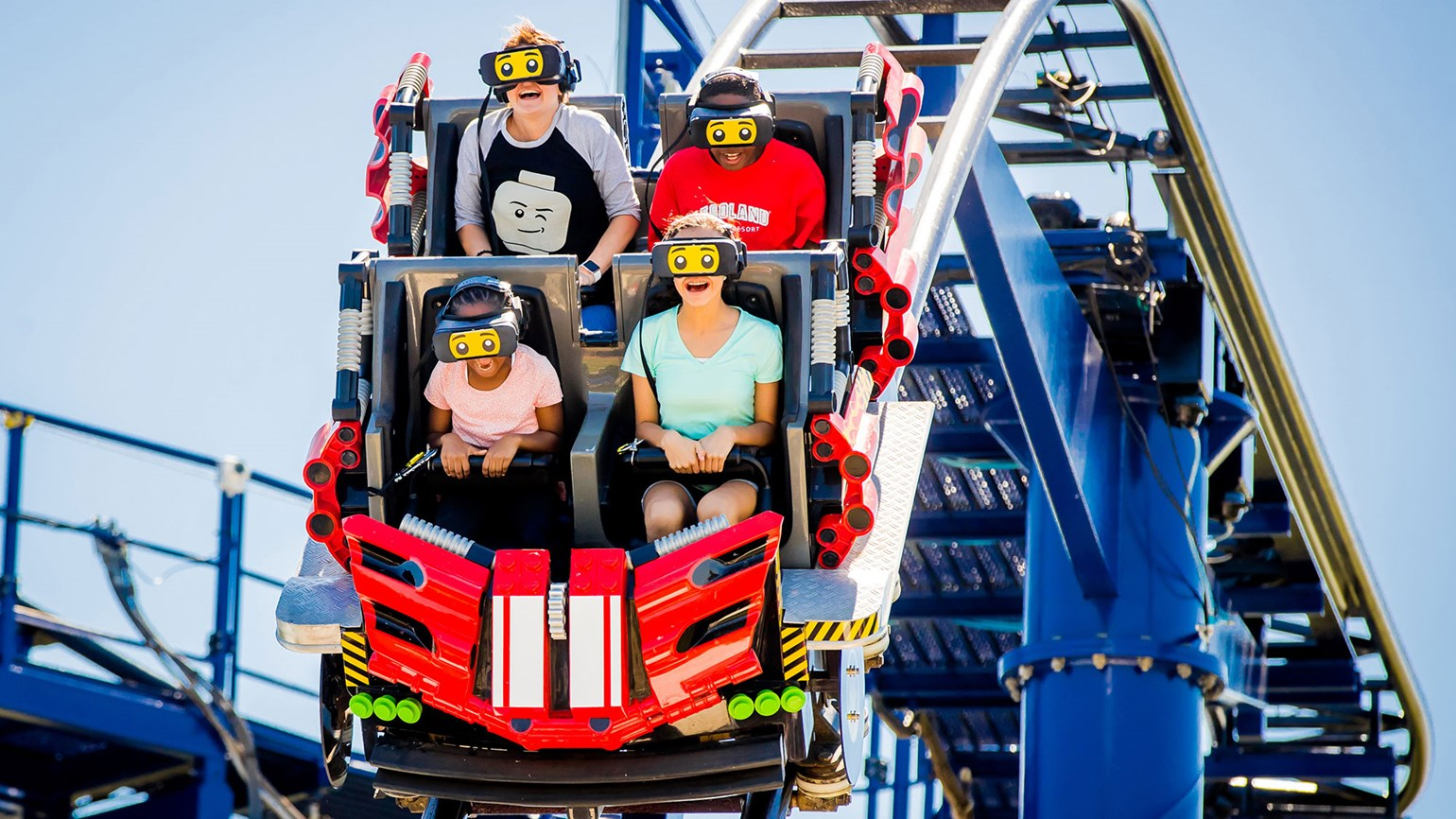 Legoland Florida launches kid-friendly virtual-reality coaster