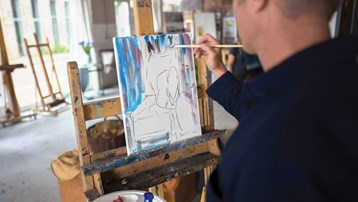 Art-themed cruises offer hands-on experience