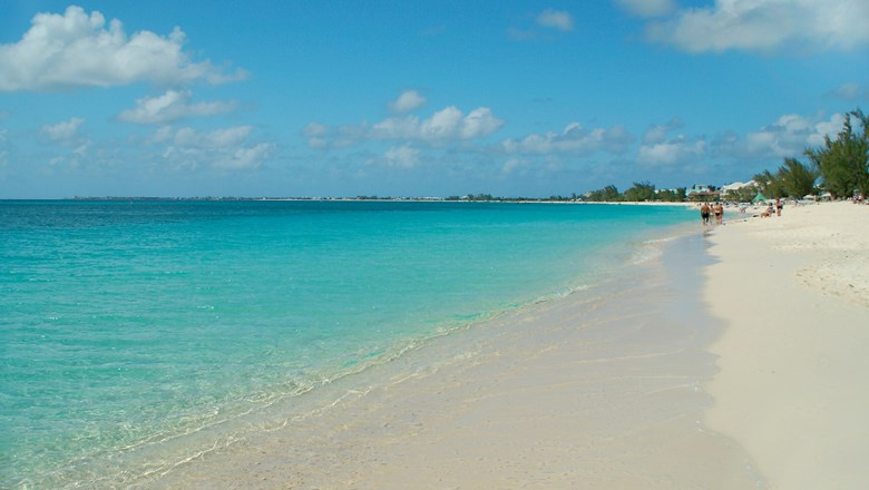 Seven Mile Beach on Grand Cayman.