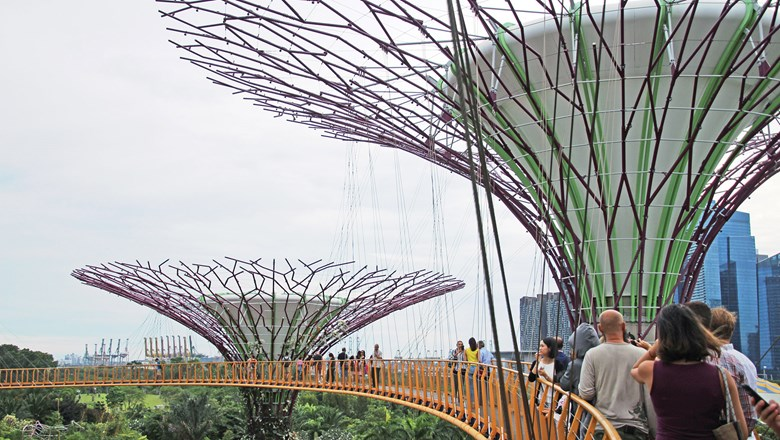Gardens by the Bay is one of the highlights of Remote Lands' Family Fun From Singapore to Langkawi tour.