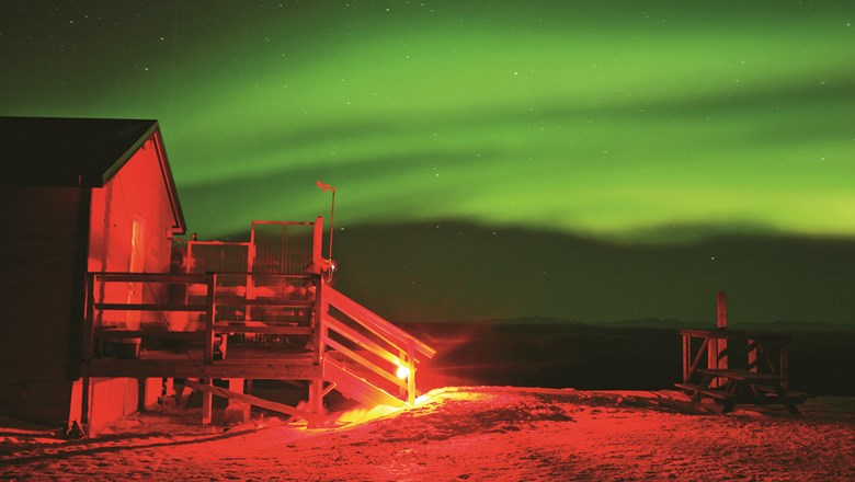 Explore Fairbanks' Aurora Tracker will calculate the best days for viewing the northern lights.
