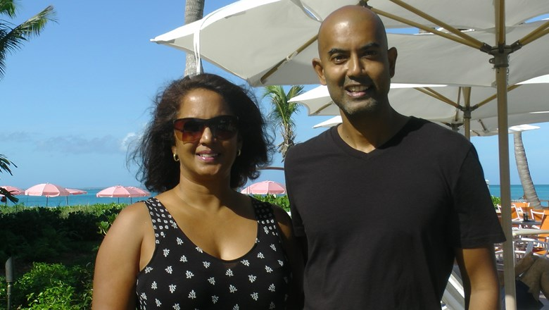 Susan and Val Kalliecharan, founders of LuxuryExperiencesTurksandCaicos.com.