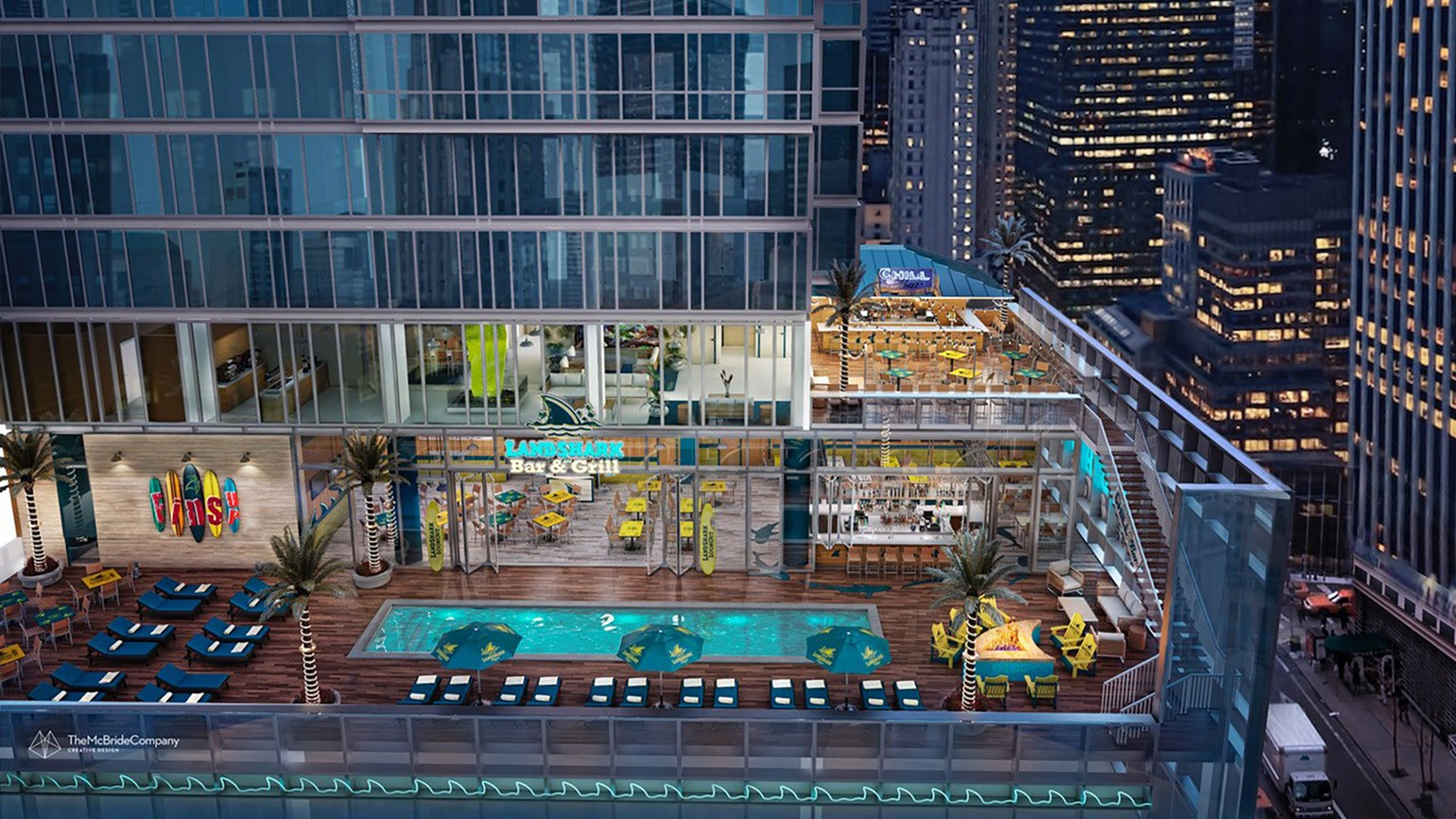 Margaritaville resort being built in Manhattan