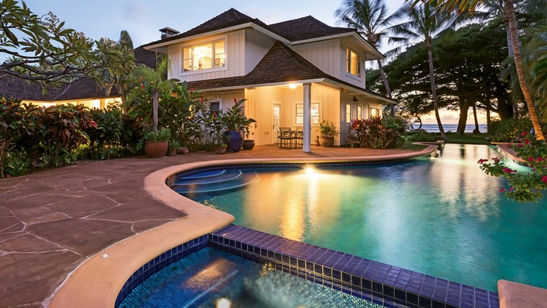 The Maui Royal Shores Villa, one of Exotic Estates International's more than 350 properties in Hawaii.