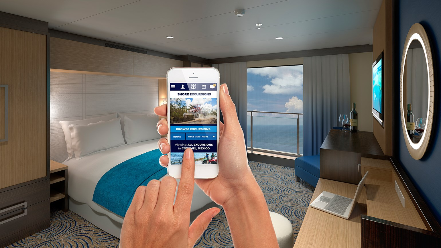 Royal Caribbean says high-speed Internet is spreading the word