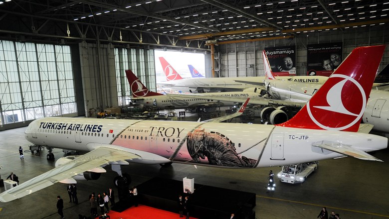 Turkish Airlines has launched a Troia-themed aircraft to support the country's Year of Troy tourism campaign.
