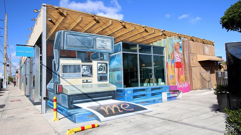 One Of The Large Format Murals At Wynwood Walls In Miami