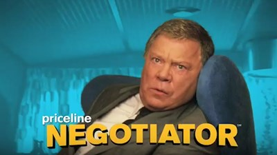 Shatner reminisces on 20 years as Priceline pitchman
