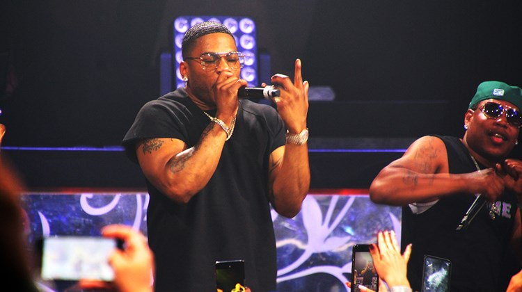 Three-time Grammy winner Nelly served as closing-night performer for the Showstopper Awards.