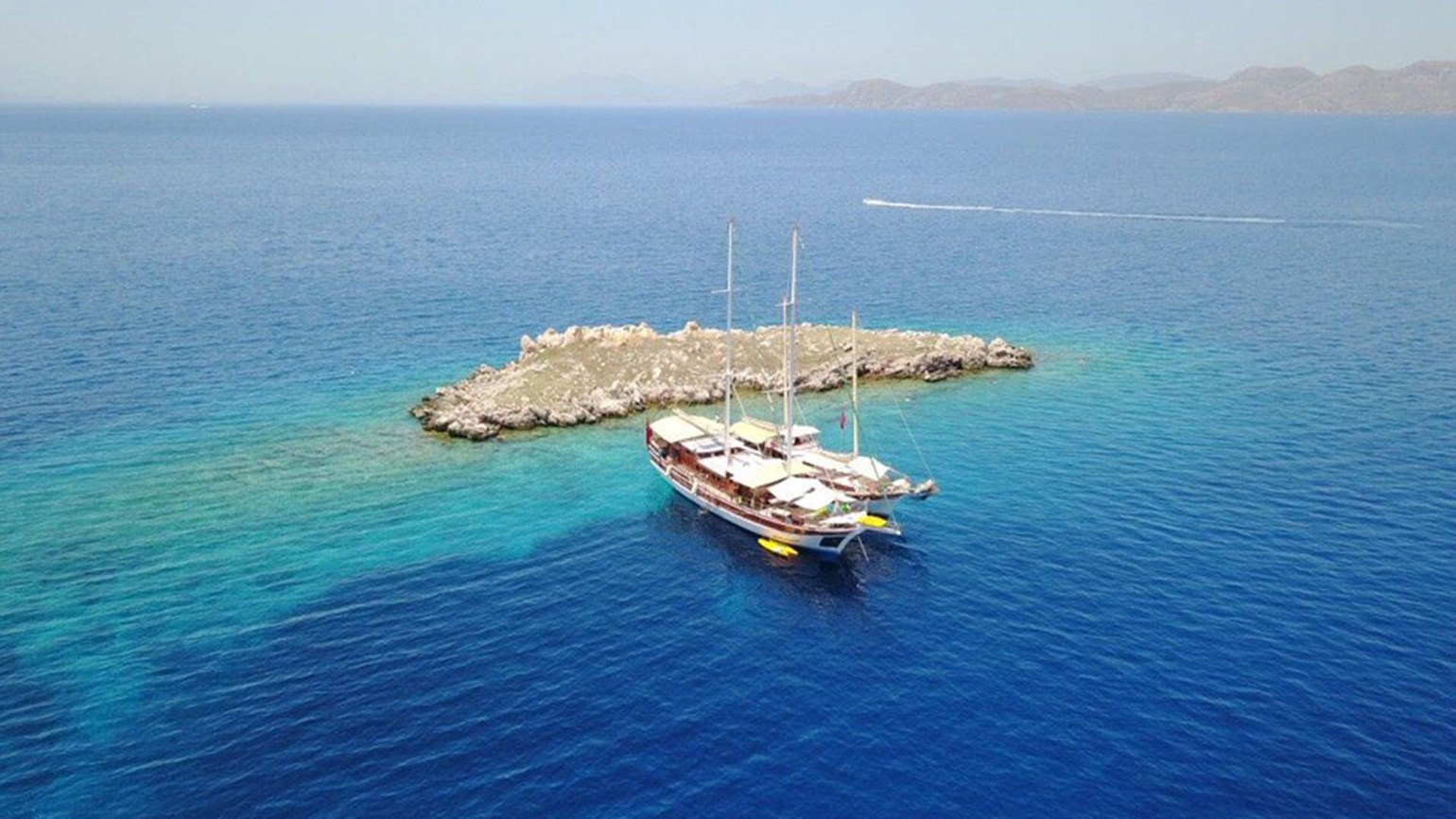 Turkey and Greece yacht cruise, $575