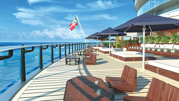 The Dock will be a chic seaside lounge.