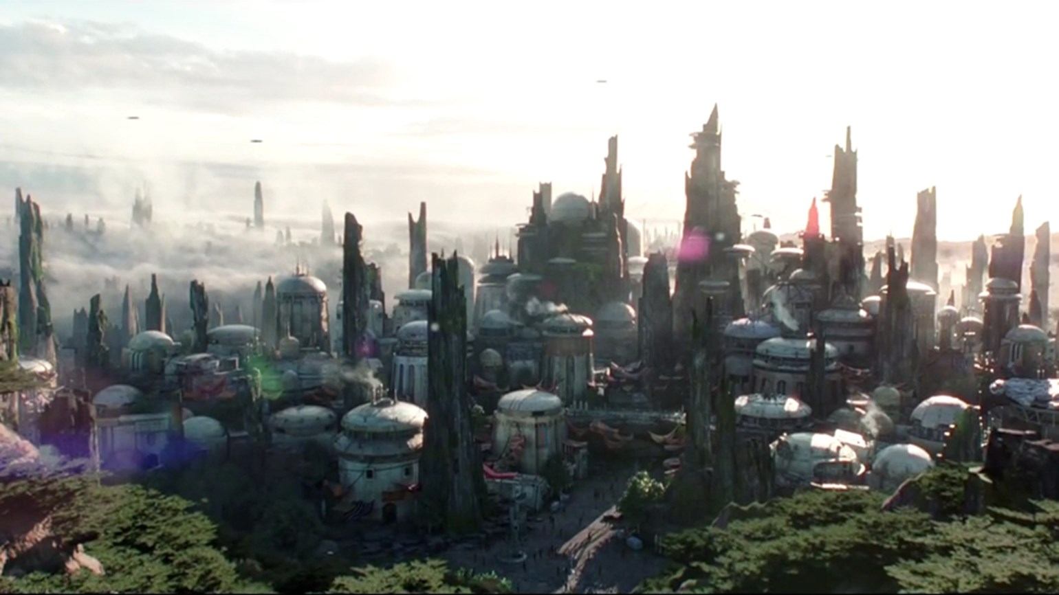 Disney reveals opening season for Star Wars lands